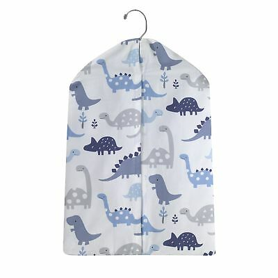 Bedtime Originals Roar Blue Dinosaur Diaper Stacker