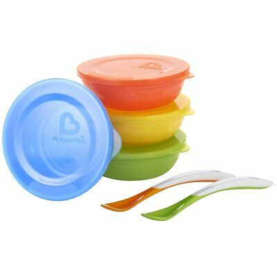 Munchkin Love-a-Bowls 10 Piece Feeding Set (Damaged Packaging)