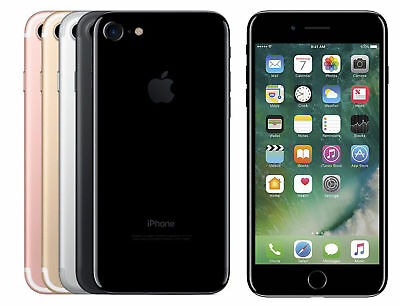 Apple iPhone 7- 32GB-128GB GSM & CDMA Unlocked 4G LTE Smartphone MRF Verizon/ATT