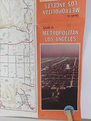Aaa California Map.Aaa Metropolitan Los Angeles California Guide Series Travel Road Map