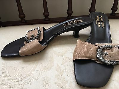 Kitten Heel Sandals by Donald J Pliner for Russell&Bromley US 9M/UK6.5
