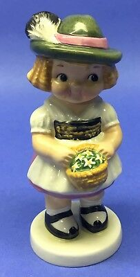 "Goebel West Germany Dolly Dingle Figurine 1981 5-1/2"" #461-17 H010"