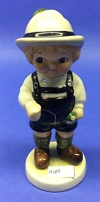 "Goebel West Germany Dolly Dingle Friend Hans Figurine 1981 5-1/2"" #458-13 H009"