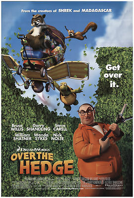 Over the Hedge 2006 27x40 Orig Movie Poster FFF-72540 Rolled Very Fine