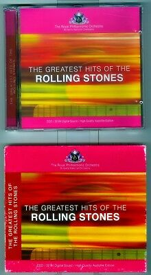 RARE IMPORT CD Rolling Stones Greatest Hits performed by The Royal Philharmonic