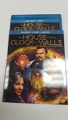 The House with a Clock in its Walls Blu-ray+DVD+Digital