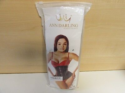 601eaa9f890 ANN DARLING LONG Torso Latex Sport Waist Trainer Corset Size Medium ...