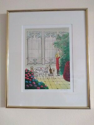 2 x French limited edition lithograph signed and numbered - special price -