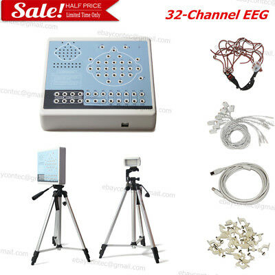 EEG machine& Mapping System 32-Channel Digital Brain electric Activity,KT88-3200