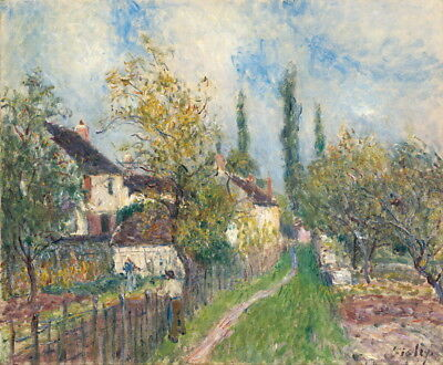 Alfred Sisley A Path At Les Sablons Giclee Paper Print Poster