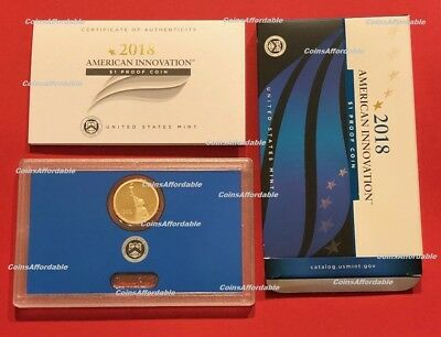 2018 S PROOF American Innovation Dollar $1 in US Mint OGP w/ COA