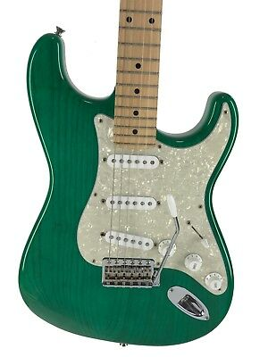 Fender Stratocaster, '57, LIMITED ED, Ash Trans Green, 2012, Hard Case