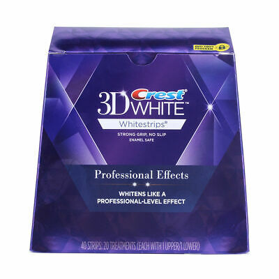 Crest3D White Luxe Professional Blanchiment Dentaires 5 sachets/10 bandes