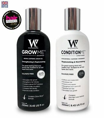 BIOTON Hair Growth Shampoo & Conditioner   BY WATERMANS   For Women & Men
