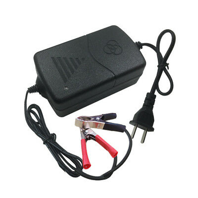 DC 12V Battery Charger Maintainer Amp Volt Trickle for Car Automotive Motorbike