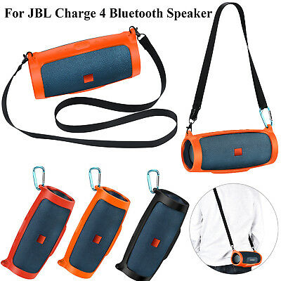 Silicone Protective Sling Case Replacement for JBL charge 4 Bluetooth Speaker