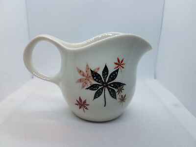 "Creamer Peter Terris for Shenango China ""Calico Leaves"" 8 oz. Cream Pitcher"