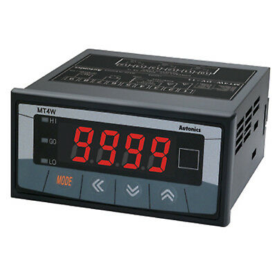 Autonics MT4W-DV-4N Digital Multi Panel Meter 100~240VAC 96x48mm Indication Type