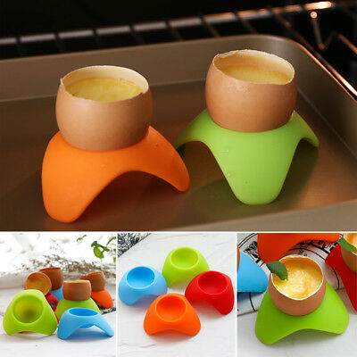 Egg Cup Silicone Storage Cup Box Eggs Holder Cooker Boiled Egg Container Stand