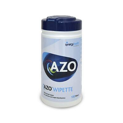 Azo Wipette Disinfectant Wipes - 100 Pack