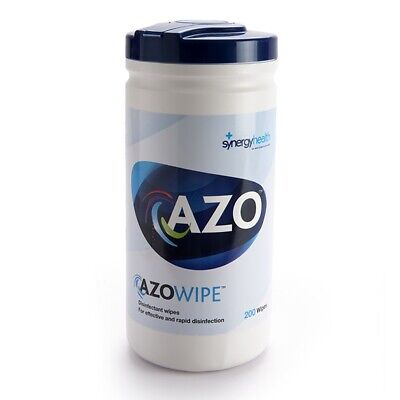 Azowipe Disinfectant Wipes - 200 Pack