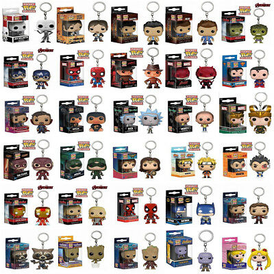 Funko Pocket Pop! Keychain Groot, Giant, STRANGER THINGS, Pikachu Figure Keyring