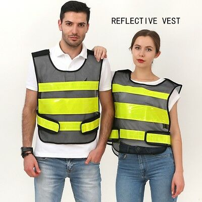 Safety Reflective Vest Security Hi-Vis For Night Outdoor Construction Traffic