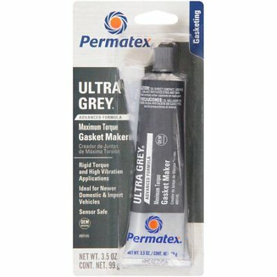 Permatex 82194 Ultra Grey RTV Silicone Gasket Maker, 3.5oz 99g OEM specified