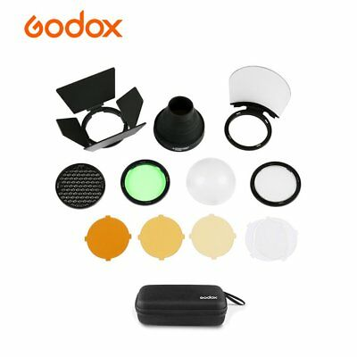 Godox AK-R1 Accessories Kit Honeycomb Snoot Diffuser and Filters for H200R AD200