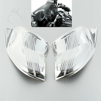 Chrom Batwing Inner Fairing Cover Für Harley Touring Electra Street Glide 96-13