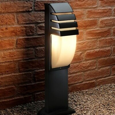 Auraglow Large Weather Resistant Outdoor Garden Path Post Light - Bulb Included