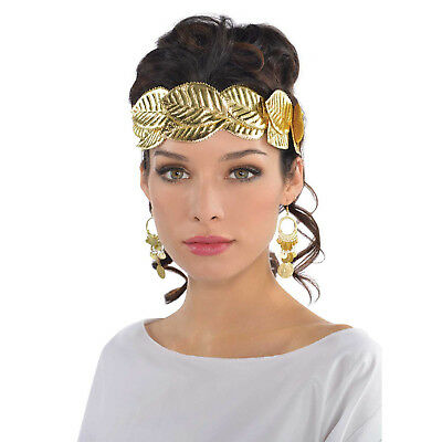 Wreath Head Band - Ancient Greek Roman God Goddess Gold Wreath - Costume Party