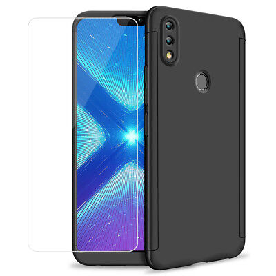 Etui Coque Integrale Verre Trempe Protection 360° pour Huawei Honor 8X 6.5""