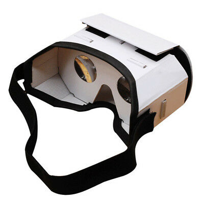 3D VR Virtual Reality Headset Movie Games Glasses For Phone Android DIY Gifts HK