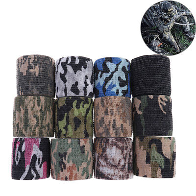 Camping & Outdoor 1Pc 5Cm X 4.5M Waterproof Hunting Camouflages Camouflage Stealth Tape Elasticity Camping-Waschbecken