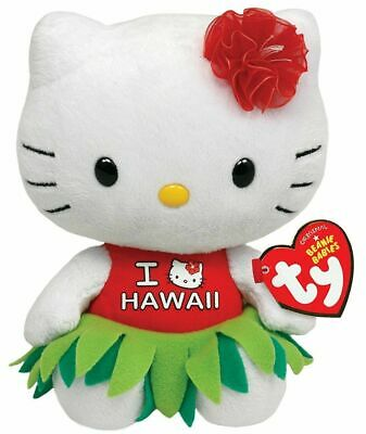 Hello Kitty Small TY Beanie Baby 6.5
