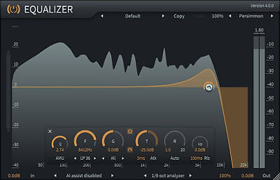 ToneBoosters Equalizer 4 (MAC, Windows) VST, VST3, AU, AAX  plugin