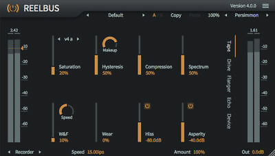 ToneBoosters ReelBus 4 (MAC, Windows) VST, VST3, AU, AAX  plugin