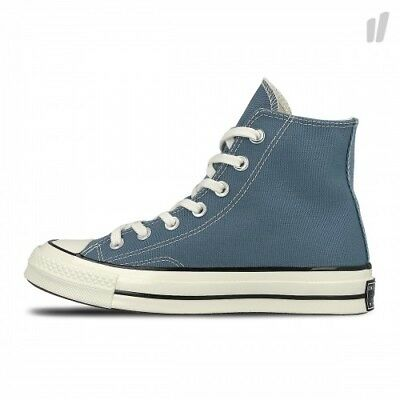 155745c Classic Uk New 70s Hi Size Converse Blue Trainers 7 Chuck Taylor Top 8Pkn0wO