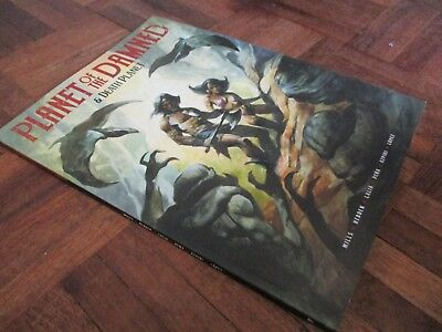 planet of the damned and death planet  2000ad  graphic novel