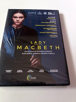 "Dvd ""lady Macbeth"" Precintado Sealed William Oldroyd Florence Pugh Cosmo Jarvis"