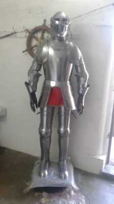 Medieval Crusader Suit of Armor 17th Century Combat Full Wearable Armour Suit