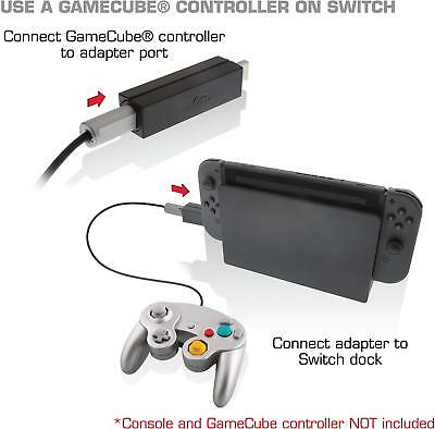 Nyko Retro Single 1- Port Controller Adapter for Nintendo GameCube to Switch
