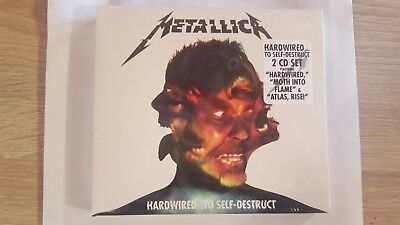 Metallica Hardwired To Self-Destruct 2 Cd Nuovo Originale Sigillato
