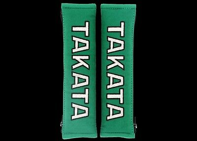 Takata type Shoulder Seat Belt Harness Pads Drift Track JDM Type R S14 S15 GTR