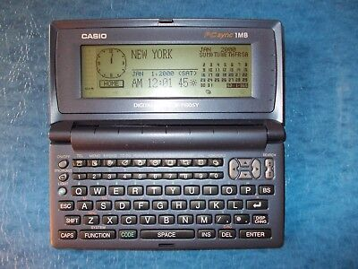 Casio DG diary SF7100SY,NEW BATTERY Replaced,Works Perfect-Tested;1MB Memory;