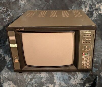 """Ikegami TM14-17R - 14"""" Color Broadcast Display Monitor System"""
