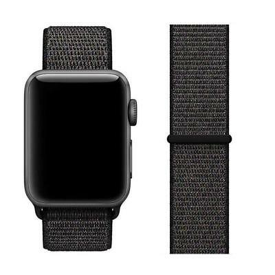 Genuine Apple Watch Sport Loop Band - 42MM Black - Authentic OEM