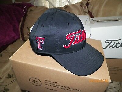 1 NEW TITLEIST GOLF Tour Hat Adjustable TEXAS TECH RED RAIDERS TH7APCOL-TT ca86d09d960