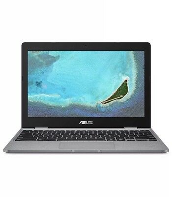 ASUS Chromebook C223NA-GJ0014 11.6 Inch HD Notebook (Grey) (Intel Celeron N3350